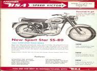 1962 BSA Sport Star SS-80 sales brochure