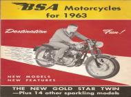 1963 BSA sales brochure