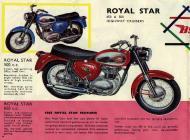 1964 BSA Royal Star sales brochure