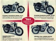 1964 BSA Lightweight Competition Models sales brochure