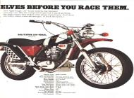 1971 BSA Victor 250 Trail sales brochure