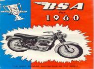 1960 BSA sales brochure
