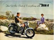 1962 BSA sales literature