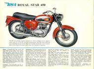 1962 BSA Royal Star 650 sales brochure