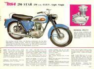 1962 BSA 250 Star sales brochure