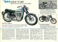 BSA Gold Star sales brochure