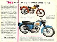 BSA 125 Single and Bantam Super 175 Single sales brochure