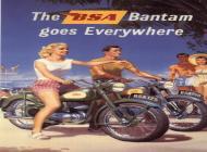 BSA Bantam Poster