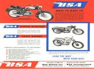 BSA Red Flash 75
