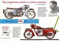 Triumph 5TA Speed Twin sales brochure