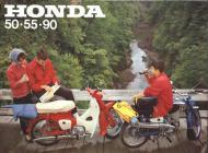 Honda 50, 55, 90 sales brochure