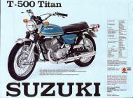Suzuki T-500 Titan sales brochure