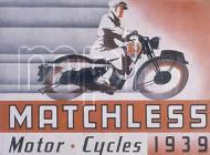 Matchless Motor Cycle advert