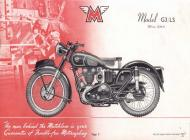 Matchless G3 LS sales brochure