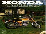 Honda CB125S sales brochure