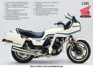 Honda CBX sales brochure