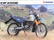 Suzuki DF200E sales brochure