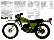 Kawasaki KS125 sales brochure