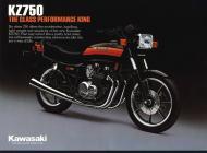 Kawasaki KZ750 sales brochure