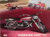 Yamaha 350 Street R5 sales brochure
