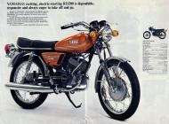 Yamaha RD200 sales brochure