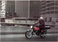 Yamaha RD400 sales brochure