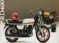 Yamaha RD400 poster