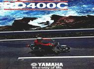 Yamaha RD400C sales brochure