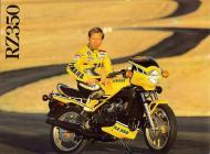 Yamaha RZ350 sales brochure