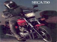 Yamaha Seca 750 sales brochure