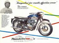 Triumph Thunderbird 6T sales brochure
