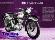 Triumph Tiger Cub sales brochure