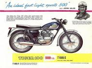 Triumph Tiger T100S sales brochure
