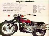 Triumph Trophy and Daytona sales brochure
