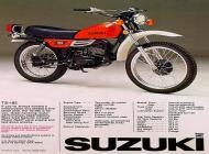 Suzuki TS-185 sales brochure