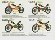 Yamaha TZ sales brochure