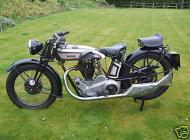 1929 Norton Model 18 Competition