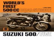 Suzuki T500 Sales Brochure