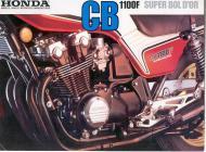 Honda CB1100F Advert