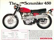 1968 Honda CL450 Advert