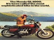 Honda GL1000 Advert