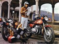1972 Kawasaki S1 Japan Advert