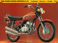1972 Kawasaki S2 Advert