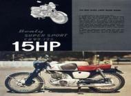 1959 Honda CB92 Advert