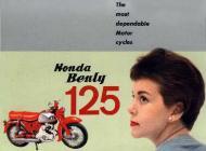 Honda Benly 125 Advert