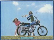 Honda CL100 Scrambler Advert