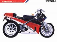 Honda VFR750RJ Advert