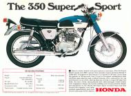 1968 Honda CB350 Sales Brochure