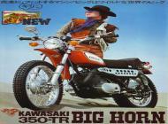 1970 Kawasaki 350 TR Big Horn Japan Advert