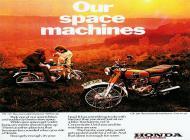 Honda CB125 Advert